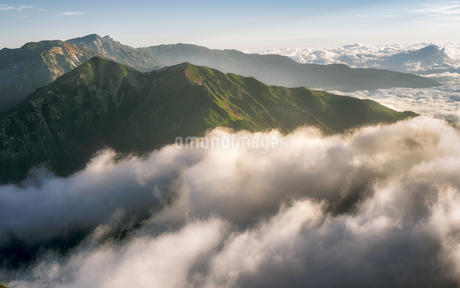 五竜岳 日本 富山県 黒部市の写真素材 [FYI03390382]
