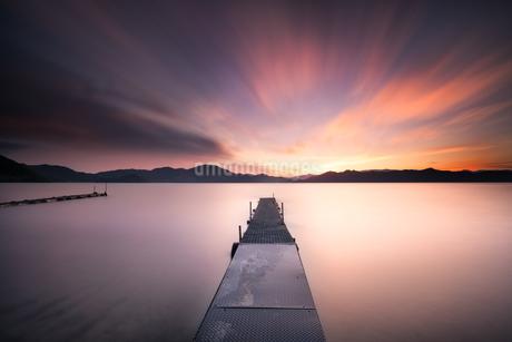 田沢湖 日本 秋田県 仙北市の写真素材 [FYI03390399]