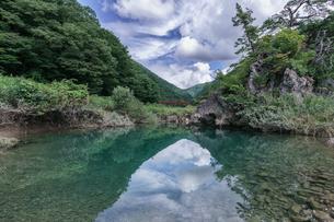 抱返り渓谷 日本 秋田県 仙北市の写真素材 [FYI03390432]