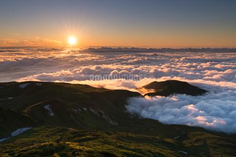 鳥海山 日本 山形県 遊佐町の写真素材 [FYI03390441]