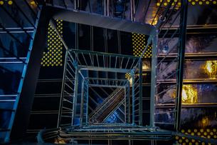 螺旋階段のイメージの写真素材 [FYI03390592]