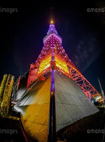 東京タワーのイメージの写真素材 [FYI03390678]