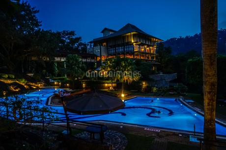 ラグジュアリーホテルのイメージ(スリランカ・キャンディー)の写真素材 [FYI03390810]