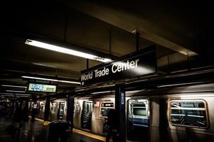 ニューヨークの地下鉄のイメージの写真素材 [FYI03390847]