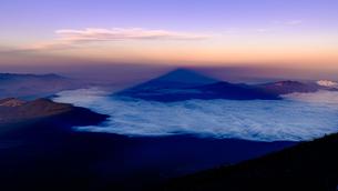 富士山 日本 山梨県 富士吉田市の写真素材 [FYI03390952]