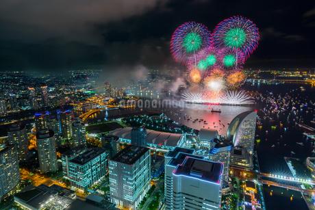 横浜ランドマークタワー 日本 神奈川県 横浜市の写真素材 [FYI03390974]
