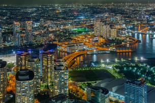 横浜ランドマークタワー 日本 神奈川県 横浜市の写真素材 [FYI03390975]