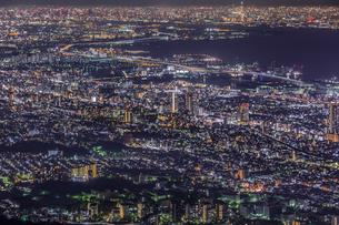 摩耶山 掬星台 日本 兵庫県 神戸市の写真素材 [FYI03390988]