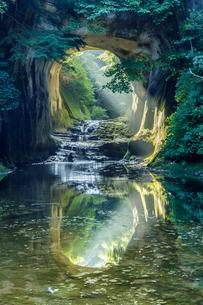 濃溝の滝 日本 千葉県 君津市の写真素材 [FYI03391032]