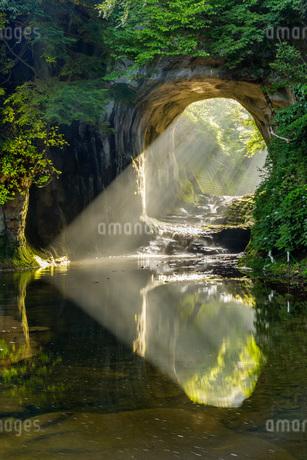 濃溝の滝 日本 千葉県 君津市の写真素材 [FYI03391051]