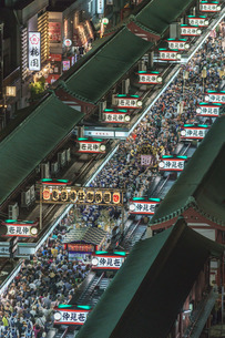 浅草寺 日本 東京都 台東区の写真素材 [FYI03391083]