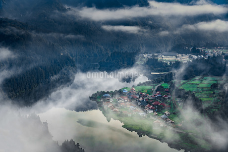 会津中川大志 日本 福島県 金山町の写真素材 [FYI03391085]