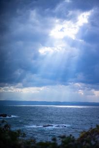 天使の梯子の写真素材 [FYI03391142]