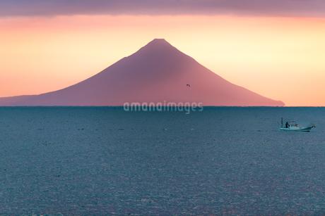 火の神公園 日本 鹿児島県 枕崎市の写真素材 [FYI03391474]