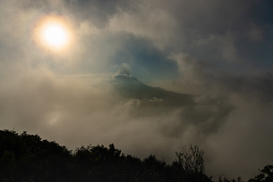 寺山公園展望台からの眺め 桜島 日本 鹿児島県 鹿児島市の写真素材 [FYI03391507]