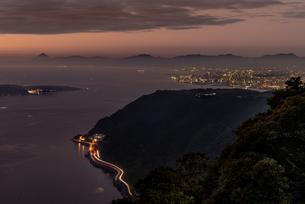 寺山公園展望台からの眺め 日本 鹿児島県 鹿児島市の写真素材 [FYI03391511]