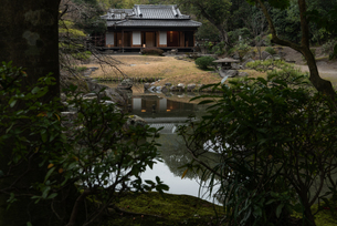 旧島津氏玉里邸庭園の写真素材 [FYI03391577]