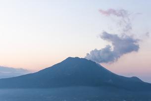 寺山公園からの眺め 桜島 日本 鹿児島県 鹿児島市の写真素材 [FYI03391673]