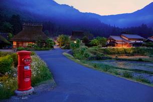 美山 かやぶきの里 日本 京都府 南丹市 美山町北の写真素材 [FYI03391890]