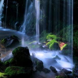 猿壺の滝 兵庫県 美方郡 新温泉町 日本 の写真素材 [FYI03391948]
