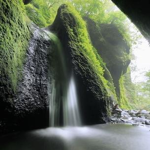 シワガラの滝 日本 兵庫県 新温泉町の写真素材 [FYI03391957]