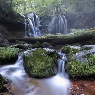 猿壺の滝 日本 兵庫県 新温泉町の写真素材 [FYI03391958]
