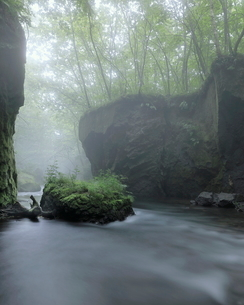 樽前ガロー 日本 北海道 苫小牧市の写真素材 [FYI03391960]