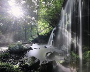 猿壺の滝 日本 兵庫県 新温泉町の写真素材 [FYI03391962]