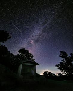 天の川 小入谷 日本 滋賀県 高島市の写真素材 [FYI03391965]