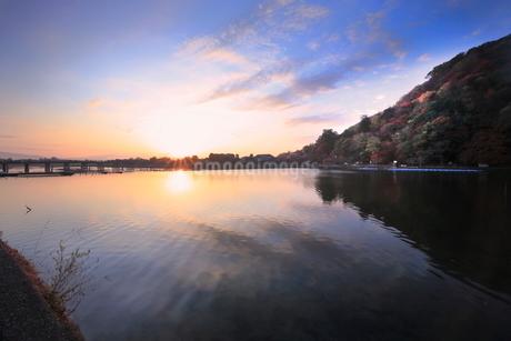嵐山  京都の写真素材 [FYI03391982]