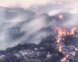 花矢倉展望台 日本 奈良県 吉野郡の写真素材 [FYI03391985]