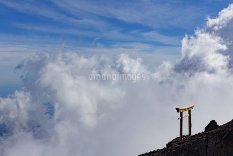 富士山 日本 静岡県 富士宮市の写真素材 [FYI03392096]