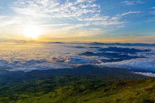 鳥海山 日本 山形県 遊佐町の写真素材 [FYI03392107]