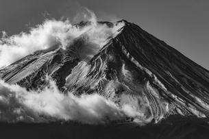 三ツ峠山 日本 山梨県 富士河口湖町の写真素材 [FYI03392131]