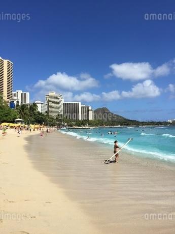 ハワイでの休日の写真素材 [FYI03392445]
