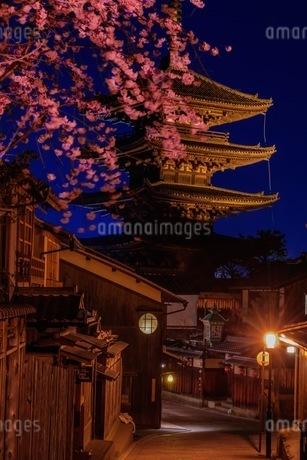法観寺(八坂の塔) 日本 京都府 京都市の写真素材 [FYI03392857]