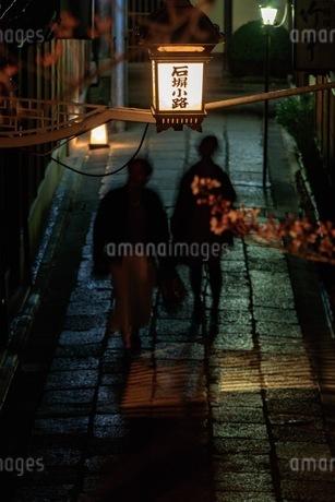 石塀小路 日本 京都府 京都市の写真素材 [FYI03392859]