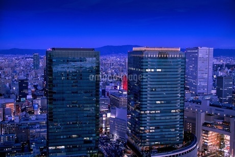 梅田スカイビル 日本 大阪府 大阪市の写真素材 [FYI03392892]