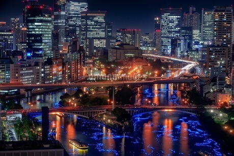 天満橋 日本 大阪府 大阪市の写真素材 [FYI03392894]