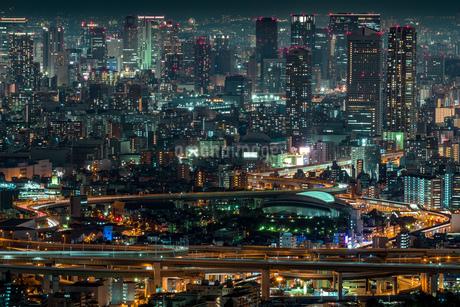 コスモタワー展望台 日本 大阪府 大阪市の写真素材 [FYI03392926]