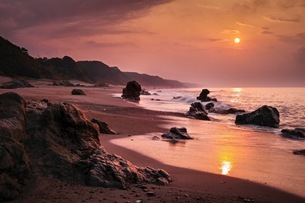 太平洋ロングビーチ 日本 愛知県 田原市の写真素材 [FYI03393039]