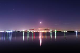中の島大橋 日本 千葉県 木更津市の写真素材 [FYI03393094]