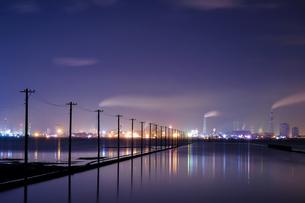 江川海岸 日本 千葉県 木更津市の写真素材 [FYI03393095]