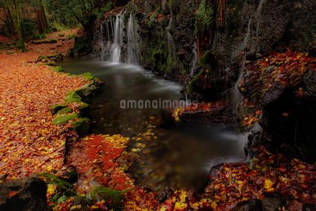 千条の滝 日本 神奈川県 箱根町の写真素材 [FYI03393122]
