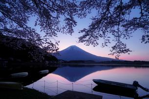 田貫湖 日本 静岡県 富士宮市の写真素材 [FYI03393160]