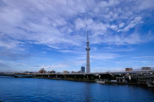 隅田川 日本 東京都 中央区の写真素材 [FYI03393183]