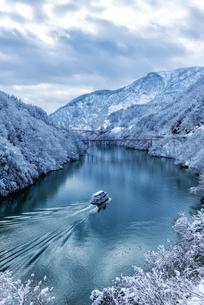 庄川峡 日本 富山県 砺波市の写真素材 [FYI03393217]