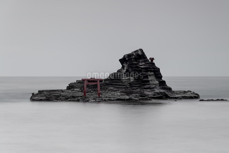 守谷海水浴場 日本 千葉県 勝浦市の写真素材 [FYI03393263]