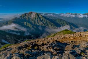唐松岳 日本 富山県 黒部市の写真素材 [FYI03393271]