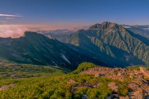 唐松岳 日本 富山県 黒部市の写真素材 [FYI03393272]